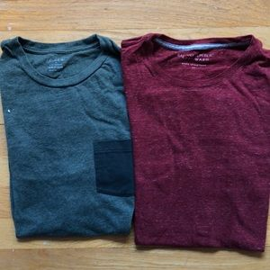 (2) Long Sleeve T-Shirts